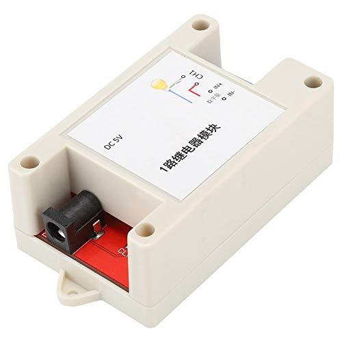 Socobeta Relais-Optokopplermodul Relaismodul ESP8266 1-Kanal-WLAN mit Isolierung der optischen Kopplung des Gehäuses