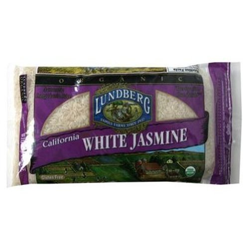Lundberg California White Jasmine Rice Safety and trust quality assurance Organic 2 Pack of 18 LB