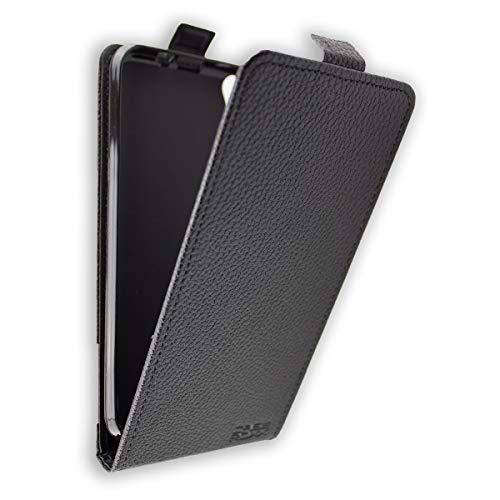 caseroxx Flip Cover für Archos Core 55, Tasche (Flip Cover in schwarz)