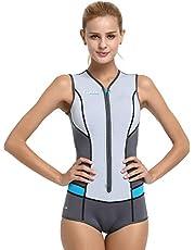 Cressi Idra Swimsuit Traje de baño de Neopreno 2 mm para Mujer