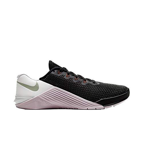 Nike Metcon 5, Zapatillas de Deporte para Mujer, Negro (Black/Noble Red-Pistachio Fros 066), 39 EU