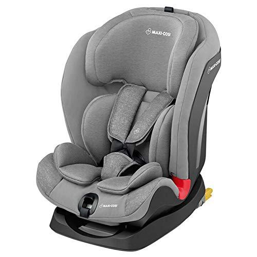 Bébé Confort Titan Siège Auto pour Enfant Groupe 1/2/3, ISOFIX , Evolutif et Inclinable, de 9 mois à 12 ans (9 à 36kg), Nomad Grey