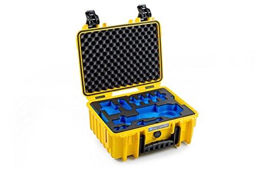 B&W outdoor.cases Typ 3000 mit DJI Osmo+ / DJI Osmo X3 Inlay - Das Original
