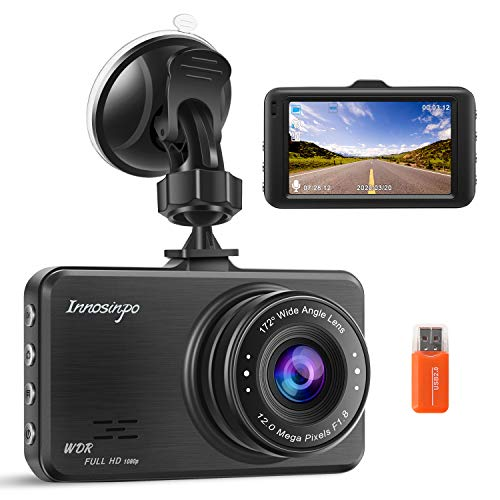 Dash Cam FHD 1080P In Car Camera Dashcam for Cars,170° Wide Angle 3 Inch...