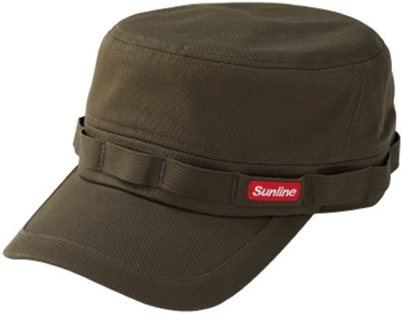 Sunline (SUNLINE) work cap olive drab CP-3810 free
