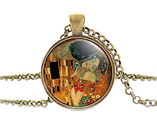 Nueva llegada Zinc Unisex Vintage Collares Collier Michael colgante collar de cristal largo collares cadena para los fans
