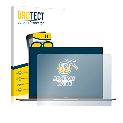 BROTECT Entspiegelungs-Panzerglasfolie kompatibel mit Huawei MateBook X Pro 2020 - Anti-Reflex Panzerglas Schutz-Folie Matt