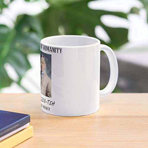 SAVIOUR OF HUMANITY - DR WU LIEN-TEH. 11 Oz Premium Quality printed Coffee Mug, Comfortable To Hold, Unique Gifting ideas for Friend/coworker/loved ones