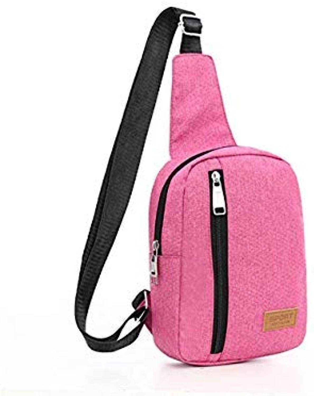 Bloomerang DTBLESS Bag Female Canvas Messenger Bags Fashion Mini Shoulder Bag for Women Small Handbag Purse New Crossbody Bags D213-1 color Pink