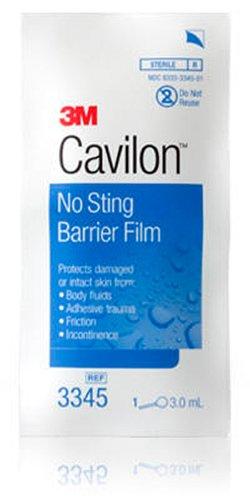 3M Cavilon No Sting Barrier Film 3345, 100 Applicators (Pack of 4)