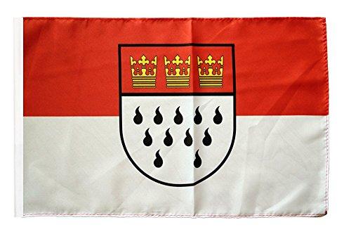 Flaggenfritze® Flagge Deutschland Stadt Köln - 30 x 45 cm
