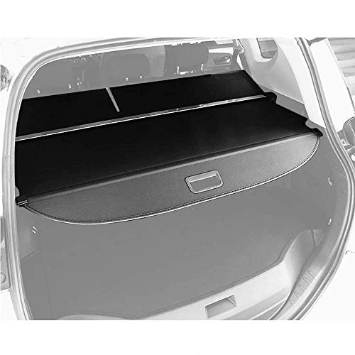 Cargo Cover Replacement for 2014-2018 RAV4 Black Retractable Trunk Shielding Shade