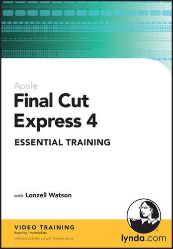 Final Cut Express 4 Essential Training (Mac/PC DVD) [import anglais]