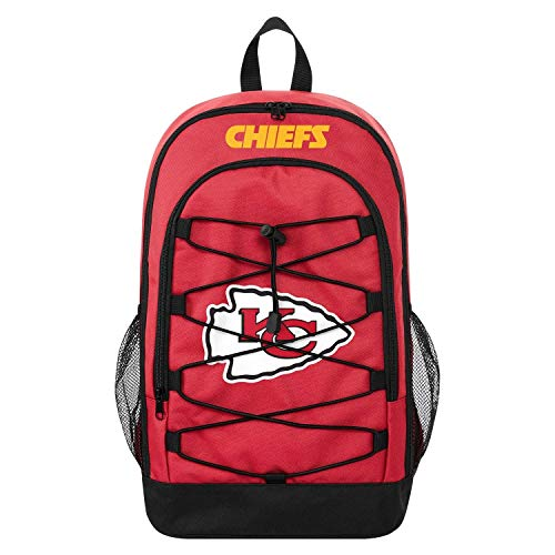 Forever Collectibles FOCO Kansas City Chiefs Bungee NFL Rucksack Rot