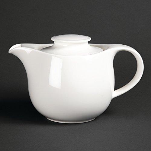 Royal porcelana Maxadura Advantage tetera 750ml Infusor de porcelana de color blanco