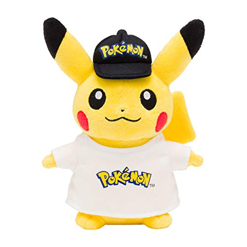 ポケモンセンターオリジナル ぬいぐるみ ピカチュウ Pokémonロゴ