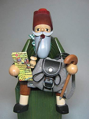 German Incense Smoker Wanderer - 15cm / 6 inch - KWO
