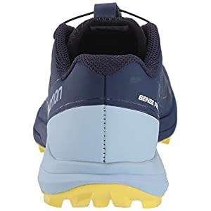 Salomon Women's Sense Pro 3 Trail Running Shoes, Patriot Blue/Cashmere Blue/Aurora, 8.5