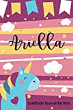 Ariella Gratitude Journal for Kids: Question a day Journal for Kids 3 Minute Gratitude Prompts to Teach Children to Practice Gratitude Thankful ... Drawing Diary for Girls Unicorn Lover Gift
