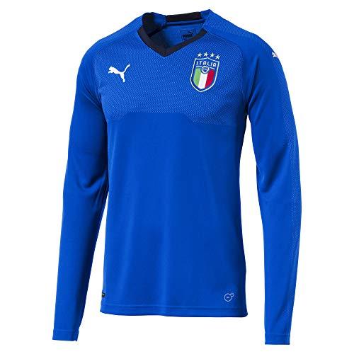 PUMA Italia Longsleeve Replica Heimtrikot Team Power Blue-Peacoat XXL