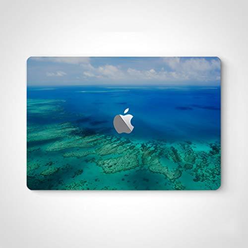 Etiqueta engomada de la Piel para el portátil Australia Gran Barrera de Coral Coral Vinilo Adhesivo para Ordenador portátil para Macbook Air 13'Pro 13' / 15'/ 16' Versión 2008-2020 Etiqueta engomad