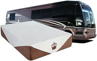 DynastyMattress 10-Inch CoolBreeze Gel Memory Foam Mattress for RV, Camper-Short Queen Size