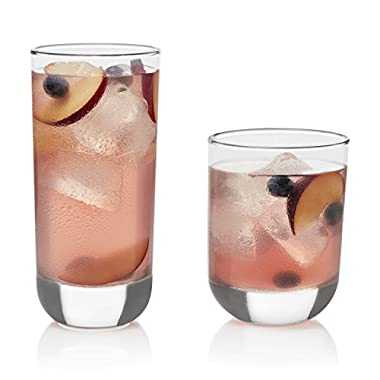 Libbey Polaris 16-piece Tumbler Glasses Set