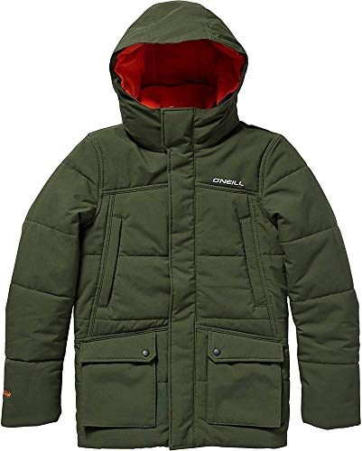 O'Neill Jungen Kinder Snowboard Jacke Explorer Parka Boys, Forest Night, 152
