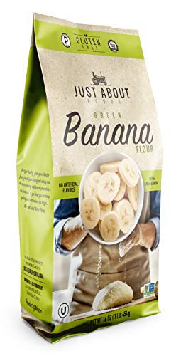 Just About Foods Banana Flour 1 Pound Paleo and Grain Free High In...