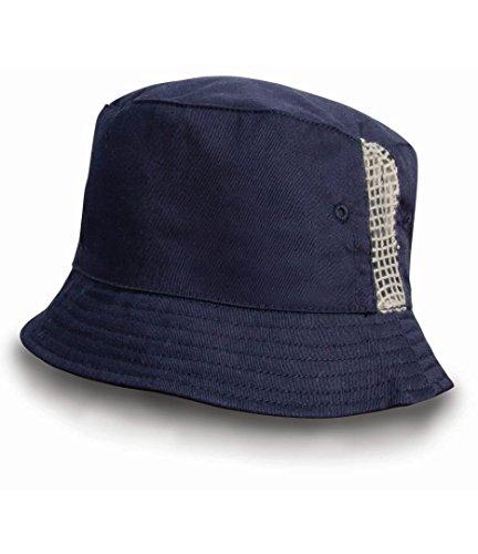 Result Headwear Bonnet unisexe en coton délavé - Bleu - Taille unique