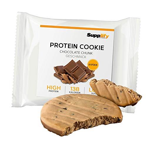 Cookies Protein Cookies sólo 139 kcal Chocolate Chip como las barritas de proteínas con Whey Protein Protein Protein Protein Whey Barritas de 40 g