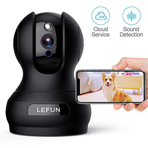 Pet Camera, Lefun 1080P Wireless Security Camera with Sound Detect...