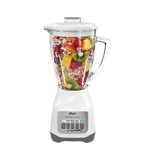 Oster Classic Series 5-speed Blender, White