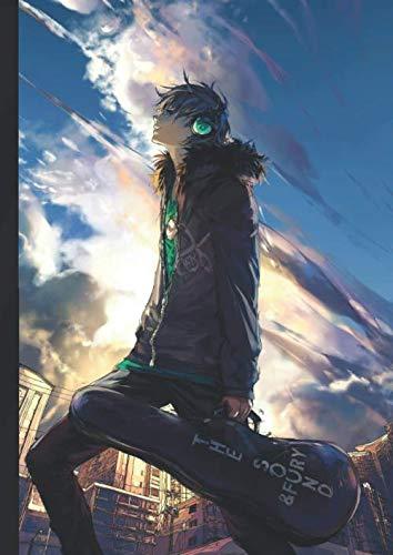 Manga A4 Musikheft für Anime Fans die Musik lieben 120 Seiten: Mädchen-Geschenk mit Lineatur zum Noten Lernen - Fantasy Mangas (Bücher) - Das Hobby Notenheft zur Musikschule und Unterricht