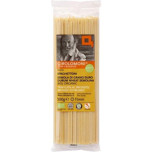 ジロロモーニ デュラム小麦 有機スパゲットーニ 500g