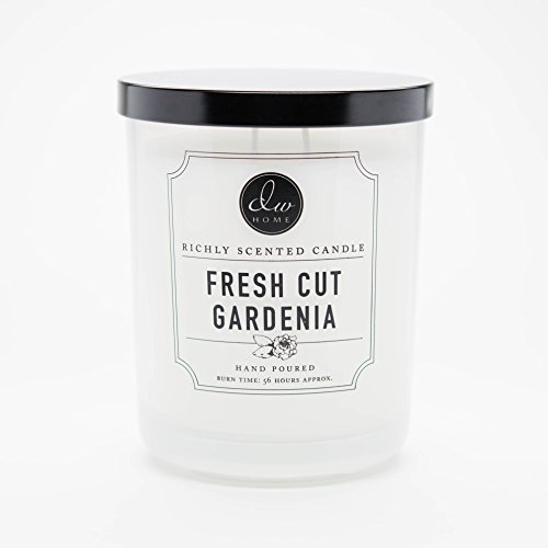 DW Home Large Double Wick Candle, Fresh Cut Gardenia