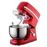 MOSHUO Batidora de Pasteles Batidoras de pie Batidora de pie en la Cocina Máquina Multifuncional de...