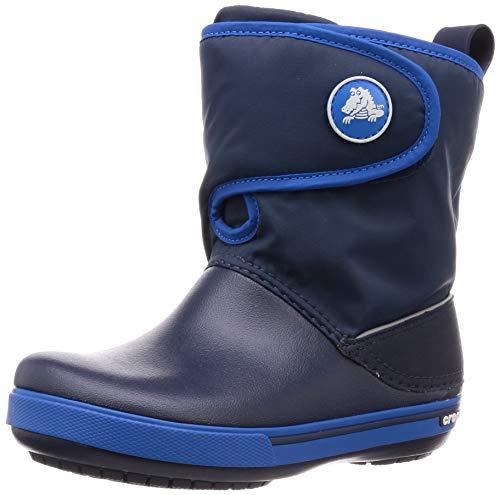 Crocs Unisex-Kinder Crocband II.5 Gust Boot Kids Schneestiefel, Blue, 25/26 EU