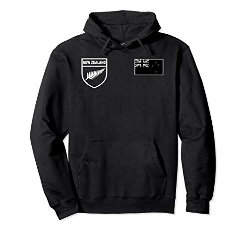 New Zealand Rugby Jersey Hoodie