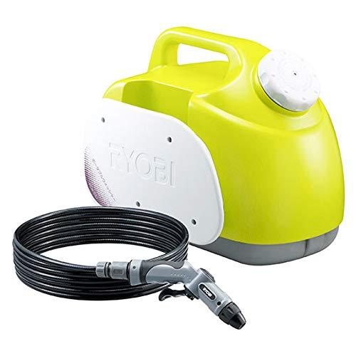 ポータブルウォッシャー 強力洗浄 大容量 15リットル 高圧洗浄機 シャワーノズル付属 AV100V DC12V 洗浄機 掃除機 強力水圧 RYOBI