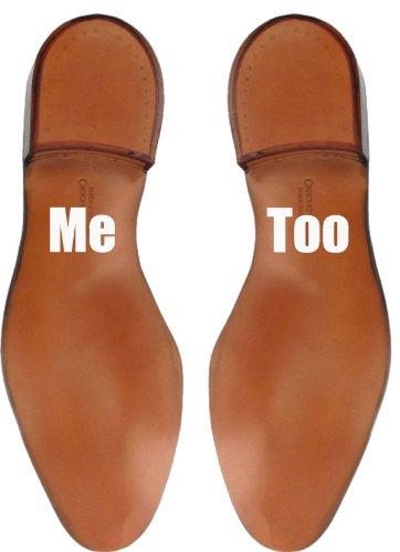 Pegatinas Divertidas para Suelas de los Zapatos con Mensaje