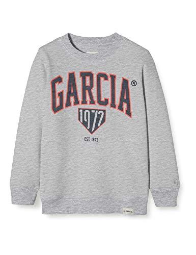 Garcia Kids Jungen GS030108 Sweatshirt, Grau (Grey Melee 66), (Herstellergröße: 176)
