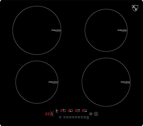 K&H Table de Cuisson Vitrocéramique a Induction IN-6804