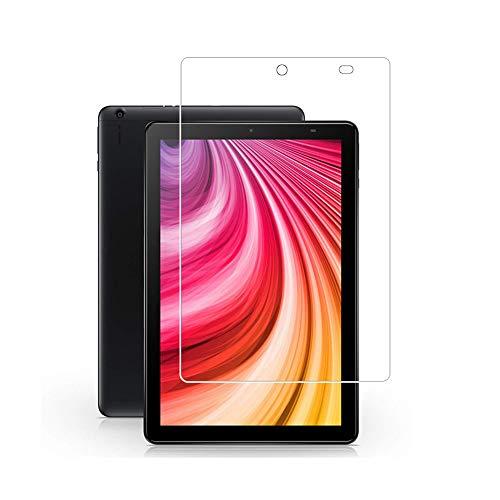 Zshion-CHUWI Hi9 Plus - Protector de pantalla para tablet (cristal templado de dureza 9H, antihuellas, sin burbujas, transparente)