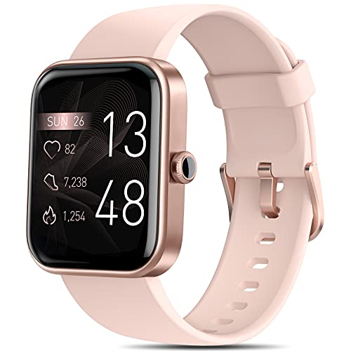 Smart Watches for Women, AOKESI 2021 Version 1.69'' Smart Watch for Android iOS...
