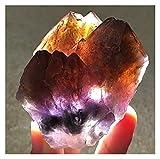 JIEGFUW Piedra Natural Cristal de energía de joyería Decor (Size : 20-30mm)