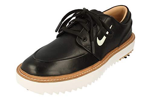 Nike Janoski G Tour Herren Golf Schuhe BV8070 Sneakers Schuhe (UK 7 US 8 EU 41, Black metallic White 001)