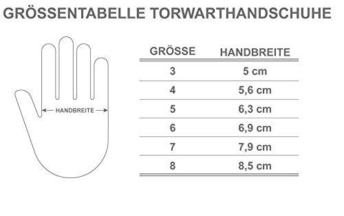 JAKO Blauer Torwarthandschuhe für Jungen - deutsche Markenqualität in Größe 7 - 3