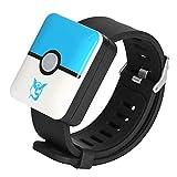 Delisouls Bluetooth Muñequera, Auto Captura Pulsera Juego Elegante Accesorios, Reloj Resistente Al Agua Recambio Muñequera Correa para Pokémon Go Plus - Azul