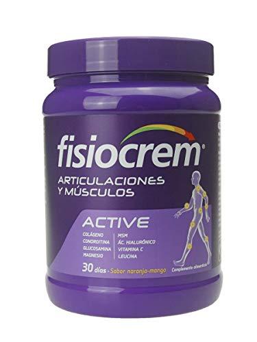 Fisiocrem Active recuperación muscular con Leucina polvo para 30 dias